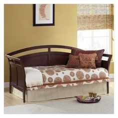 Twin size metal hirise day bed daybed frame with - Nebraska furniture mart queen bedroom sets ...