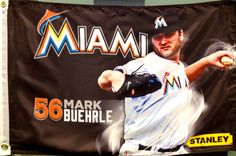Mark Buehrle Kids Wall Flag courtesy of Stanley Tools