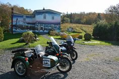 Tour Halifax by motorcycle sidecar! Embrace our destination as experienced guides take you on an adventure to remember. Bluenose Sidecar Tours' helmets include microphones enabling you to chat with guides and fellow passengers along the way. Oh The Places You'll Go, Places To Visit, East Coast Travel, Need A Vacation, Nova Scotia, Where To Go, Adventure Travel, Tours