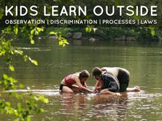 Kids learn outside: Observation | Discrimination | Processes | Laws Summer Fun, Summer Time, Summer Ideas, Summer 2015, Free Things To Do, Fun Things, Free Presentation Software, Stuff To Do, Kid Stuff