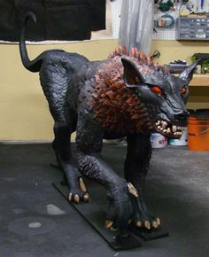 Foam Sculpt and Scale Halloween Monster Props: Tutorial - Blogs - Halloween Forum  If your not a member...sign up!!