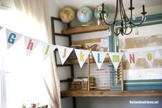 free alphabet {and numbers} bunting   the handmade home