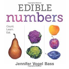 "Read ""Edible Numbers Count, Learn, Eat"" by Jennifer Vogel Bass available from Rakuten Kobo. Counting your way through the farmer's market has never been so much. Different Vegetables, Fruits And Vegetables, Eating Vegetables, Healthy Eating Books, Counting Books, Thing 1, Eat Fruit, Stuffed Green Peppers, Picky Eaters"