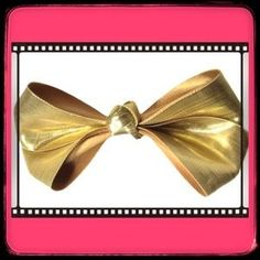 I just added this to my closet on Poshmark: Retro Oversized Big Shiny Gold Bow Hair clip. Price: $5 Size: OS