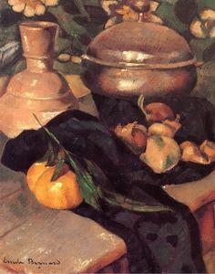 BERNARD, Emile French Symbolist (1868-1941)_Still Life