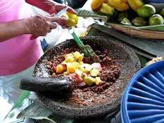 Rujak Natsepa - AMBON Indonesian Desserts, Indonesian Cuisine, Maluku Islands, Unity In Diversity, Southeast Asia, Street Food, Delish, Spices, Meals