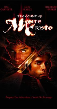 "Directed by Kevin Reynolds.  With Jim Caviezel, Guy Pearce, Richard Harris, James Frain. A young man, falsely imprisoned by his jealous ""friend,"" escapes and uses a hidden treasure to exact his revenge."