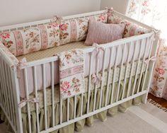 Blush Hortense Girl Crib Bedding Set - Jack and Jill Boutique