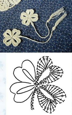 Crochet flower.  These would make very cute favors.