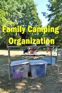 Family Camping-Packing Lists & Organzaition – Top 33 Most Creative Camping DIY Projects and Clever Ideas - rugged-life.com