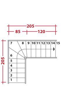 calcul d 39 un escalier multi vol es furniture design tools pinterest calcul escaliers et genie. Black Bedroom Furniture Sets. Home Design Ideas