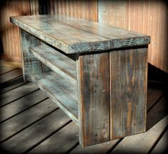 Mud Room Bench (Could Be Made From Pallets)      -   #pallets