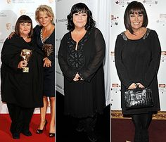 I love Dawn French in The Vicar of Dibley series, Lark Rise to Candleford, and her French & Saunders skits. Now she's a weight loss inspiration too.