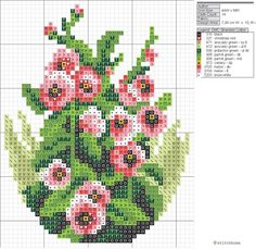 This Pin was discovered by Ays Tiny Cross Stitch, Cross Stitch Flowers, Cross Stitch Charts, Cross Stitch Designs, Cross Stitch Patterns, Cross Stitching, Cross Stitch Embroidery, Embroidery Patterns, Blackwork