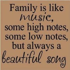 This quote reminds me of our family. We are all pretty musical.   One of my favorite memories of my Mom is when we got to sing together in a special choir for the St. Louis temple dedication. It was a sacred experience for us to share.  #DesBookMomGiveaway