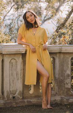 Cocoon Sleeve Dress