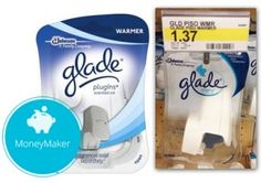 New Coupon! $0.63 Moneymaker Glade PlugIns Warmer at Target!