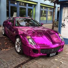 Ferrari 599 Purple Chrome