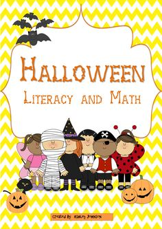 Halloween Literacy and Math activities!!!! This packet is an awesome way to bring your student's excitement for Halloween and get them engaged in Literacy and Math activities. This unit can be taught whole group, literacy centers, and Math stations. Common Core Aligned. $
