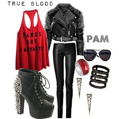 Inspired by True Blood's Pam! LOVE IT!