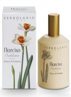Narciso Sublime L`Erbolario for women; Narciso Sublime by L`Erbolario is a Floral fragrance for women. Top notes are peach, mandarin orange, grapefruit, lemon and neroli; middle notes are magnolia, rose, lily, narcissus and freesia; base notes are amber and honey.