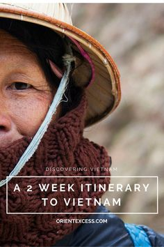 A 2 week itinerary to Vietnam for those with only little time to visit this fabulous country.