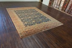 Hand Knotted Agra Dynasty Rug from India. Length: 302.0cm by Width: 241.0cm. Only £3471 at https://www.olneyrugs.co.uk/shop/rugs-for-sale/indian-agra-dynasty-21870.html    Take a gander at our lovely catalogue of kilim carpets, foot stools and Kilim bags at www.olneyrugs.co.uk