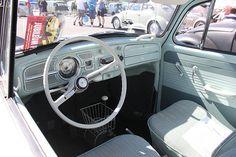 Classic VW Beetle interior