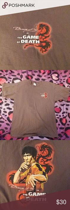 70823c8cb09f8 BRUCE LEE NOS NWOT LARGE SHIRT 2006CR,karate GOT HERE IS A NEW OLD STOCK