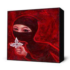 Ninja 2 Mini Art Block now featured on Fab.