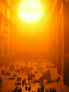 Olafur Eliasson - Weather Project