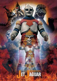 Anime Jungle - Godzilla: Exclusive Poster - Jet Jaguar