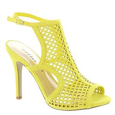 Madden Girl Regalll Womens Sandal 65 BM US Yellow -- Details can be found by clicking on the image.(This is an Amazon affiliate link and I receive a commission for the sales)