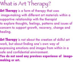 Many therapists are constrained from helping the client discover a method of art making with materials in an office. Some therapists I know who work with children are only allowed to use crayons, pencils, and paper. Encouraging discovery of all the ways one may make art, and encouraging clients to explore materials on their own, will be of great benefit to the clinician/client.