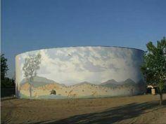 Tank Art, Bakersfield, California.