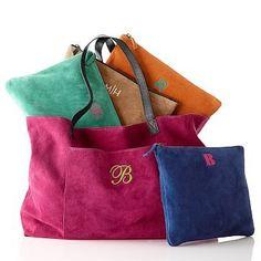 Suede Boho Bag #makeyourmark