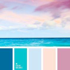 Оттенки Ocean Color Palette, Ocean Colors, Blue Palette, Colour Palettes, Summer Color Palettes, Room Colors, House Colors, Beach Color Schemes, Blue Color Combinations