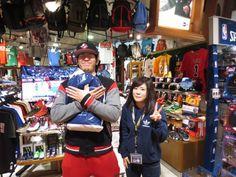 【大阪店】2015.03.23 風邪気味でしたが大丈夫でしたか!?以前購入して頂いたジョーダンのウェアをバッチリ着こなして遊びに来てくださいました!!!また遊びに来て下さいね~っ(*^_^*)