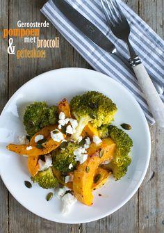 Geroosterde pompoen met broccoli txt
