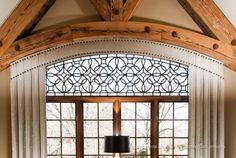 Tableaux Decorative Grilles, Residential Home Decor, Interior Decorating, Window Treatment, Faux Iron, Tours 753, Antique Bronze BB8 - Download