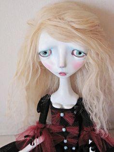 Jointed Art doll Kassandra by Anastasiasdolls on Etsy, $265.00