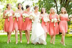 #jcrew bridesmaid dresses  Read More: http://www.stylemepretty.com/little-black-book-blog/2012/10/10/historic-cedarwood-wedding-from-rachel-moore-photography/