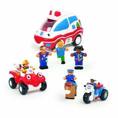 Buy Fisher-Price Little People Race and Chase Rescue at Argos. Baby Bath Toys, Argos, Fisher Price, Little People, Pre School, Kids Toys, Action Figures, Racing, Stuff To Buy