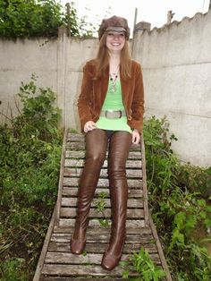 Crotch Boots, Thighs, Leather Pants, Sexy, Casual, Vintage, Google, Fashion, Knee High Boots