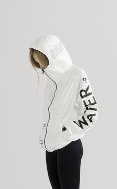 TYVEK WATER ZIP-UP | UEG STORE #UEG_official