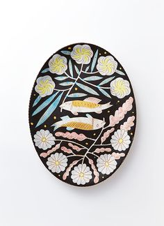 Ritz Yagi of Chariots on Fire shares how the artist's ceramics bring a deep, special perspective on life. Ceramic Wall Art, Ceramic Painting, Ceramic Plates, Ceramic Pottery, Contemporary Decorative Art, Kagoshima, Ceramics Projects, Clay Design, Pottery Designs