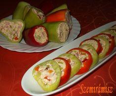 Húsvéti töltött paprika - nagyon gyorsan elkészíthető , de mégis nagyon dekoratív és finom