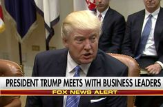 'Companies Are Gonna Come Back': Trump Meets With Business, Union Leaders