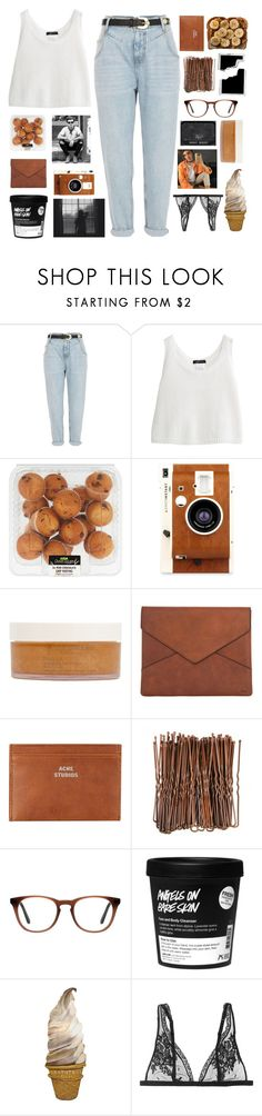 """""""my drug dealer was my doctor, my doctor"""" by thunderingwaves ❤ liked on Polyvore featuring River Island, LØMO, African Botanics, Chloé, Acne Studios, Ace and La Perla"""