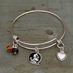 Silver Tone Wire Bracelet with Florida State Charm and Colors J and D Jewelry and More http://www.amazon.com/dp/B00SUEEJ3W/ref=cm_sw_r_pi_dp_b3l3vb0KM7ARP